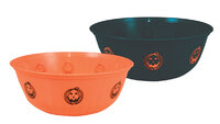 Saladier halloween - 29 x 11 x 16 cm - couleurs assorties